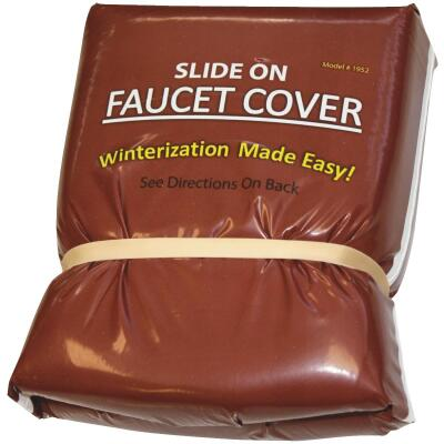 Slide On Insulated Plastic Faucet Cover