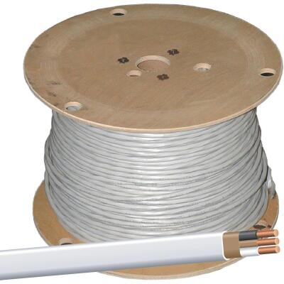 Romex 1000 Ft. 14-2 Solid White NMW/G Wire