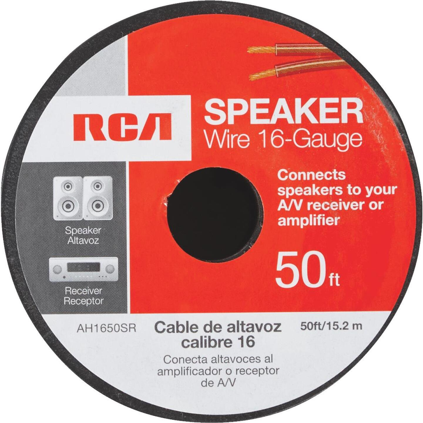 RCA 50 Ft. 16-2 Stranded Speaker Wire Image 2