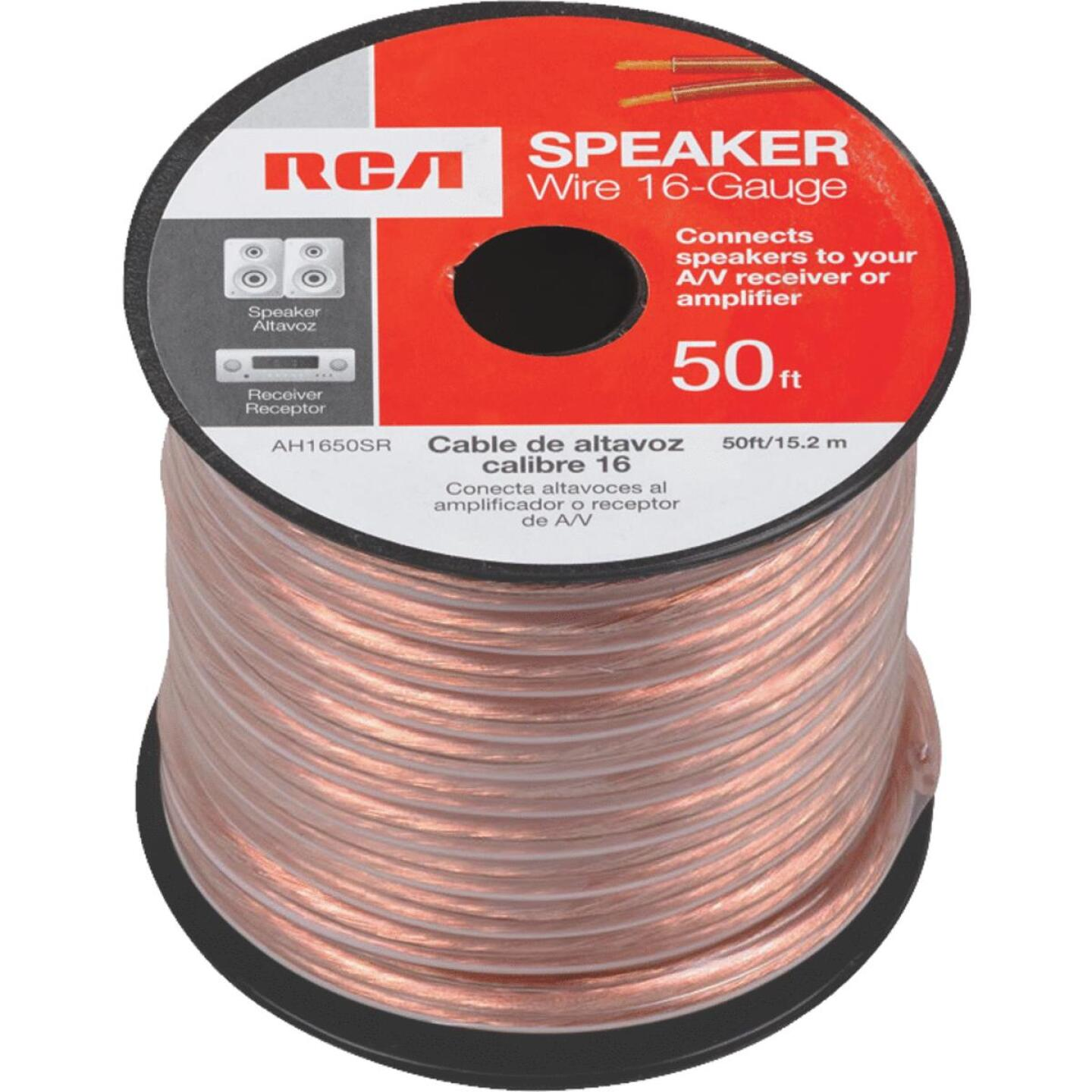 RCA 50 Ft. 16-2 Stranded Speaker Wire Image 3