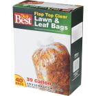 Do it Best 39 Gal. Clear Flap Tie Lawn & Leaf Bag (40-Count) Image 5